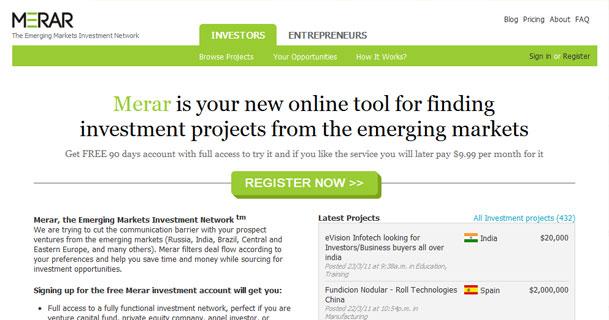 Merar - Investment network